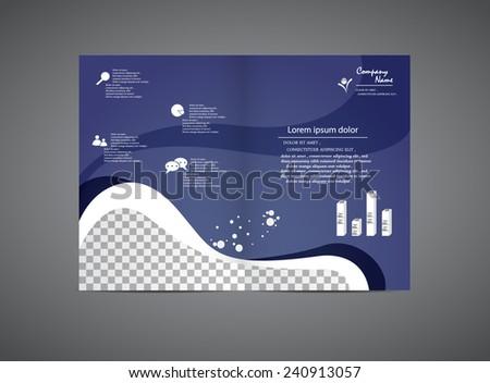 Company Brochure - stock vector