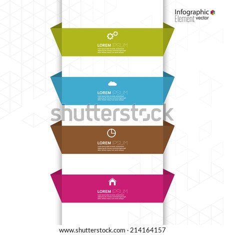 Comparative chart with templates for presentation, informative forms. Option. Infographic for  annual report, statistics, infochart, advertising, web button, explanation. Process step by step. - stock vector