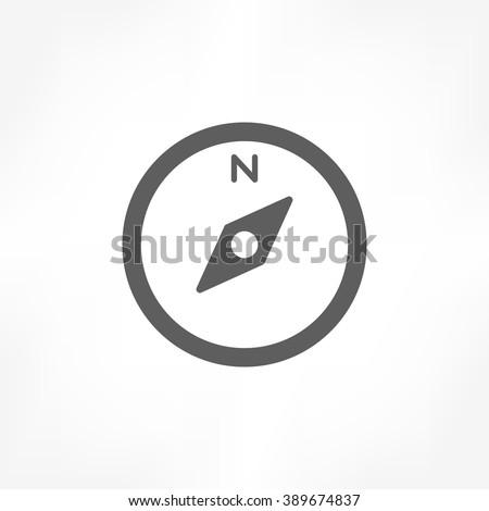 compass icon, compass icon vector, compass icon AI, compass icon EPS, compass icon jpeg, compass icon graphic, compass flat icon, compass icon image, compass icon illustration - stock vector