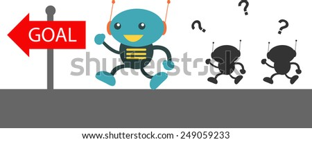 Competitive - stock vector