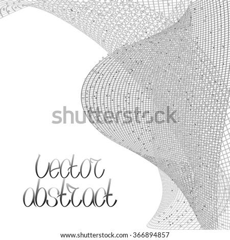 Complex Mash. Vector Illustration - stock vector