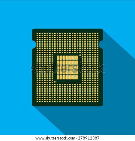 Computer Chip Stock Vectors & Vector Clip Art | Shutterstock
