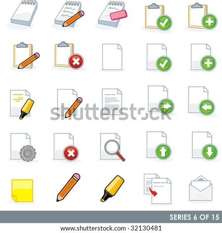 Computer Icons - Blog - stock vector