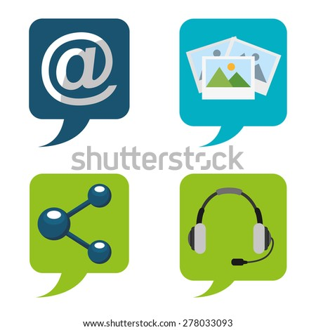 computer icons design, vector illustration eps10 graphic  - stock vector