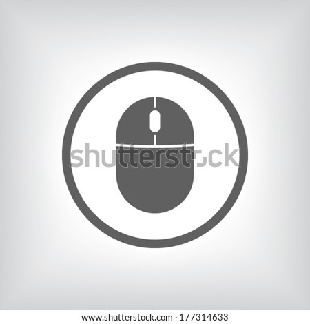 Computer Image Icon Computer Mouse Icon Vector