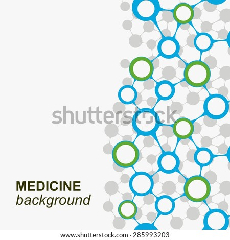 Concept background with integrated metaballs for Business Company, medical, healthcare, network, connect, social media and global concepts. - stock vector