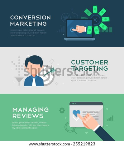 Concept of building social media audience. Human hand forming a tree of audience for social media marketing strategy, online business and advertising - stock vector