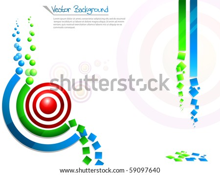 Concept of rss background colorful.Vector illustration. - stock vector