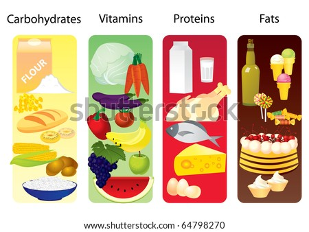 Carbohydrate Protein And Fat Stock Photos, Images, & Pictures | Shutterstock