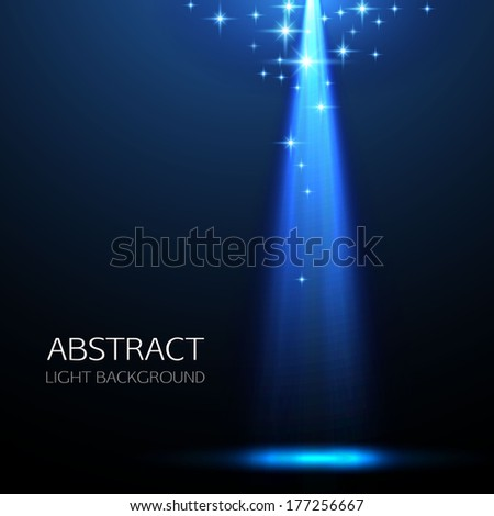 concert light dark background illustration - stock vector