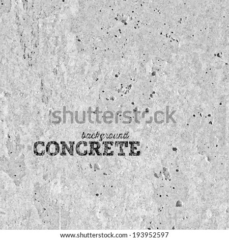 Concrete Vector Texture Background - stock vector