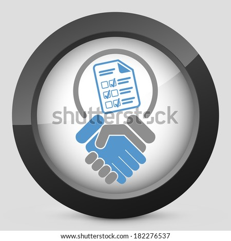 Congratulations for test result - stock vector