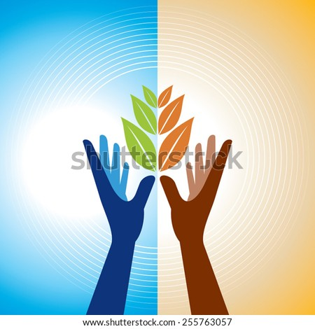 conservation of nature. Ecology Concept  - stock vector