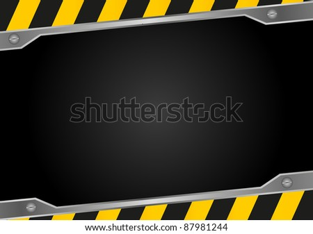 construction background - stock vector