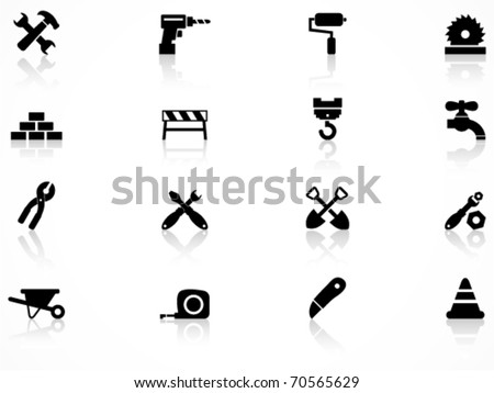 Construction symbol - stock vector