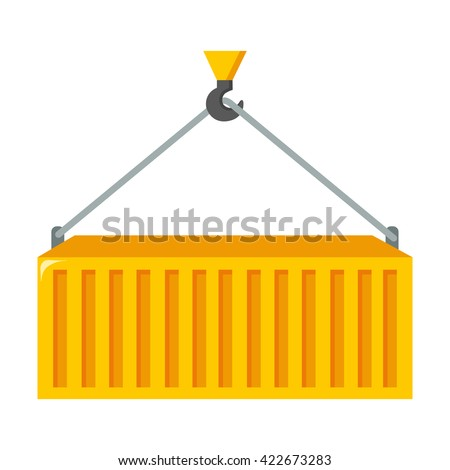 Container icon  - stock vector