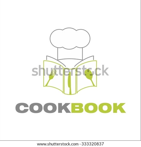 Cook book - stock vector