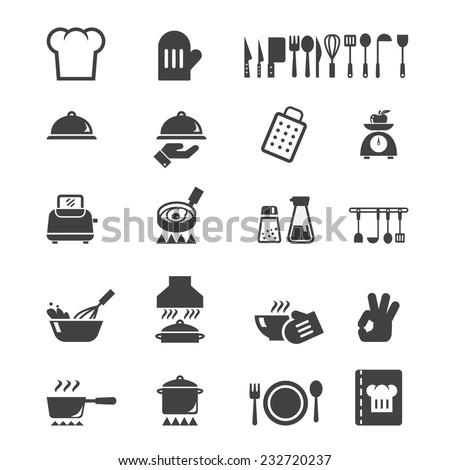 cook icon - stock vector