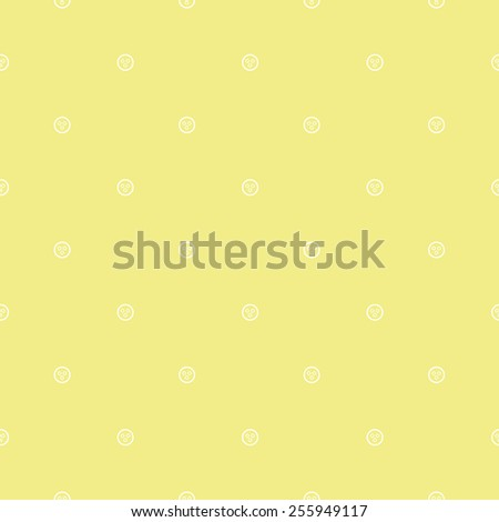 cookies and holes circles pattern - stock vector