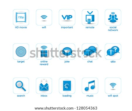 Cool Creative Graphic icon - stock vector