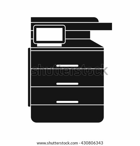 Copier icon - stock vector