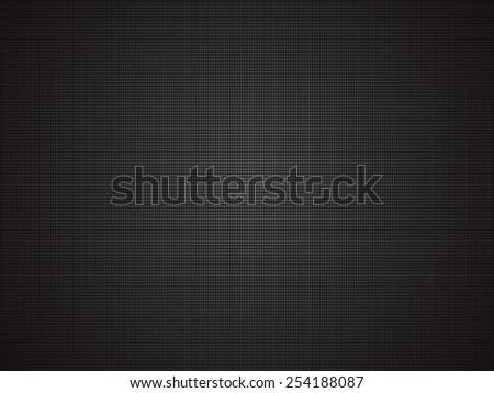 corduroy polipropylen black background - stock vector