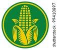 Corn symbol - stock vector