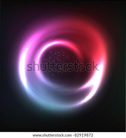 cosmic vector shiny background - stock vector