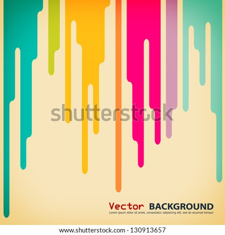 Creative abstract business background. Vector illustration. - stock vector