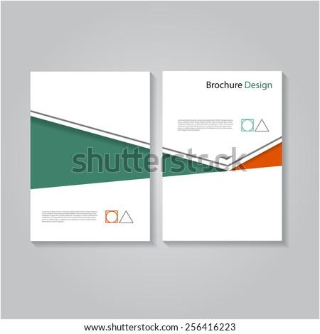 Creative brochure / flyer design, eps10 Vector. - stock vector