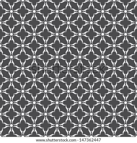 creative design pattern in black background vector - stock vector