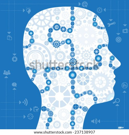 Creative Thinking - stock vector