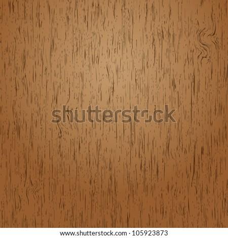 Creative wood background, Vector - stock vector