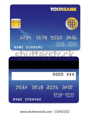 Credit Card - stock vector