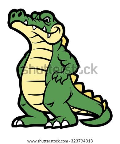 Angry Alligator Stock Vectors & Vector Clip Art   Shutterstock - photo#35