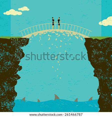 Crumbling business agreement