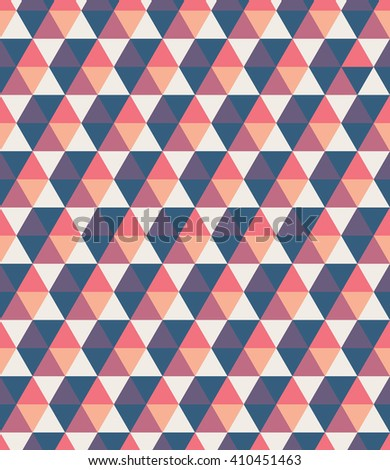 Crystal polygonal abstract texture. Geometric background. Hexagon seamless pattern. Color wallpaper. - stock vector