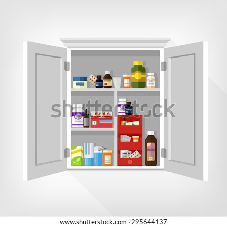 stock-vector-cupboard-with-medicines-vector-flat-illustration-295644137.jpg
