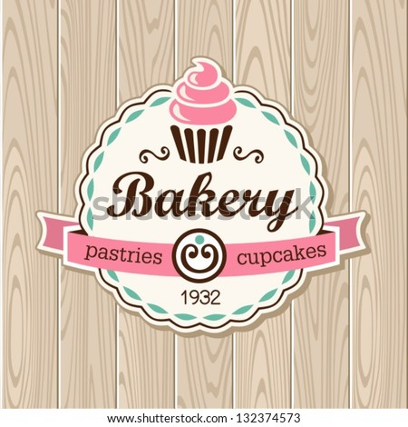 Vintage Cake Logo Design : Cupcake Stock Photos, Images, & Pictures Shutterstock