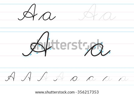 Learn how to write cursive letters
