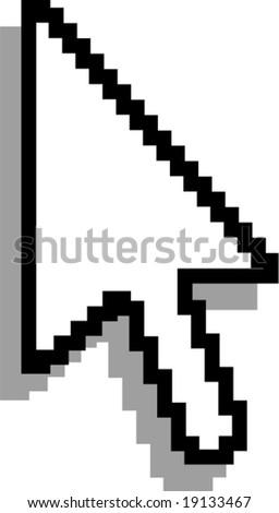 Cursor. Vector. - stock vector