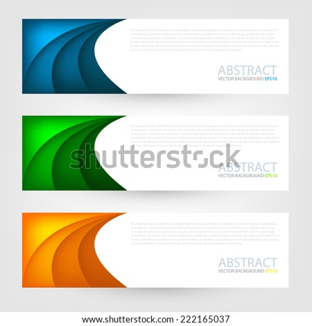 Curve paper background multicolor origami on white background overlap texture and pattern dimension vector illustration message board for text and message design modern website - stock vector