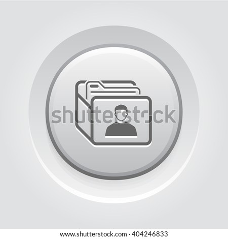 Customer Base Icon. Business Concept - stock vector