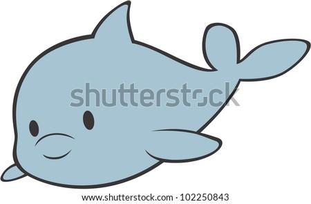 baby beluga clip art