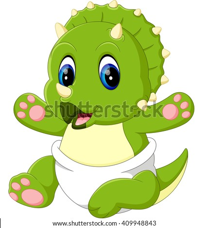 stock images similar to id 139127699 cute dinosaur cartoon