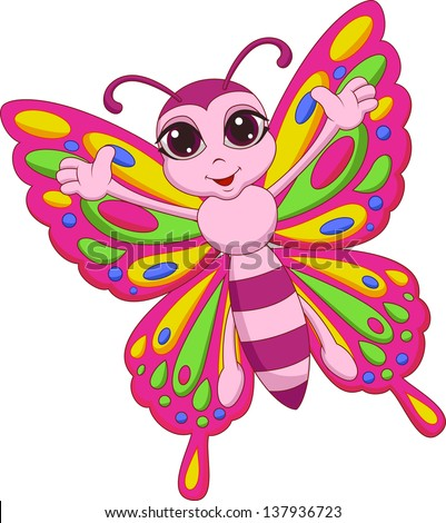 butterfly cartoon stock photos images amp pictures shutterstock