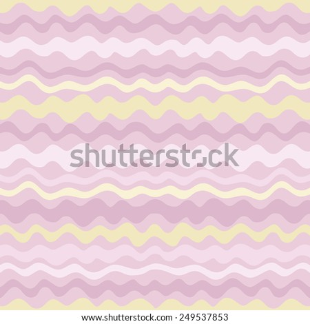 Cute cartoon hand drawn seamless pattern. - stock vector