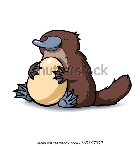 Platypus cartoon Stock Photos, Images, & Pictures ...