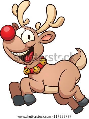 Go Back > Gallery For > Funny Reindeer Cartoon