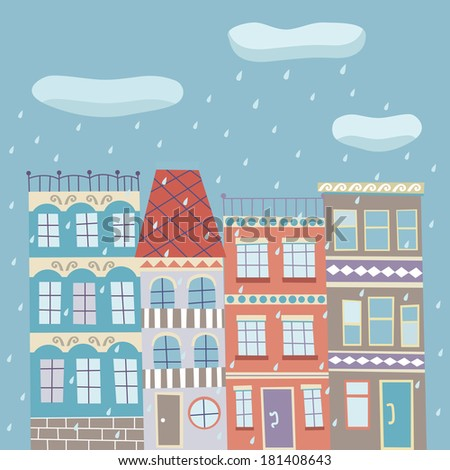 Rainy street Stock Photos, Images, & Pictures | Shutterstock